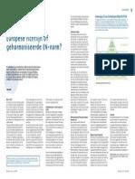 Europese Richtlijn of Geharmoniseerde en Norm