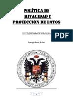 Trabajo Ley de Protección de Datos