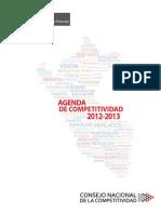 Agenda de Competitividad 2012-2013