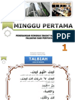 Minggu 01 - Penerangan Ibadat Haji