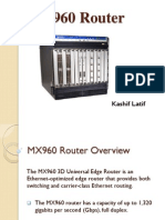 MX960 router