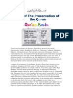 Proof of the Preservation of the Quran