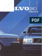 Volvo 244 1984 UK Brochure