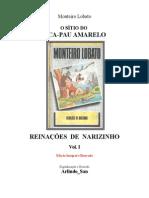 Monteiro Lobato - Sitio Do Pica Pau Amarelo - Vol 1- Reinacoes de Narizinho