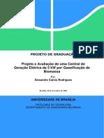 Projeto 5kw Biomassa Gaseificação