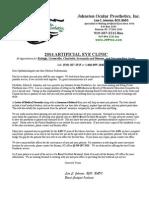 2014 Doctor Letter