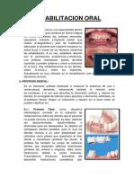Rehabilitacion Oral Resumen