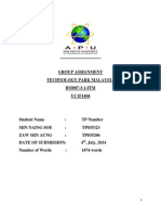 Assignment BM007 ITM