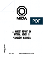 A Market Report on Natural Honey in Peninsular Malaysia