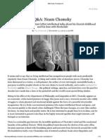 Q&A Noam Chomsky