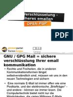 E-Mail verschlüsseln mit GPG