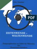 Fritz Tauscher-Zeitenwende Weltenwende -188 S-1997