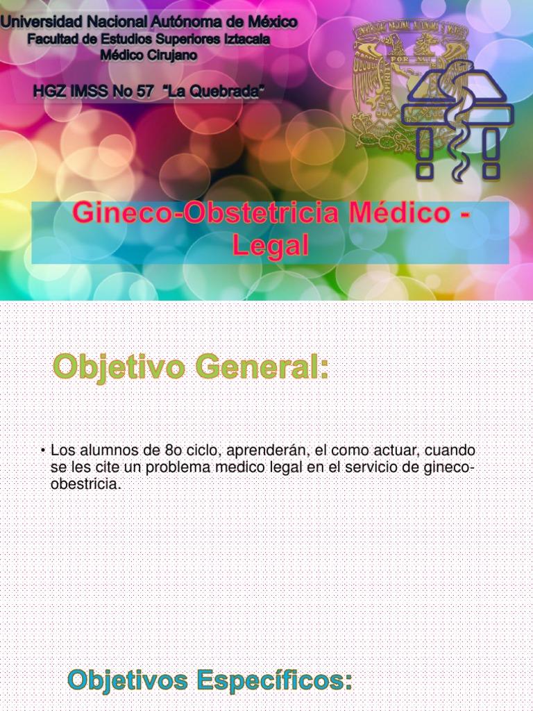 Gineco-Obstetricia Médico - Legal