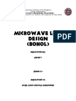 Microwave Link Design Group 1 ECE 5-1