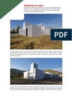Arquitectura en Cajas