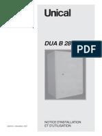 Unical DUA 28kW gas water heater user manual