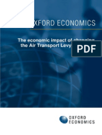 Austrian Air Transport Levy - Oxford Study - Final