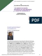 Os Signos Da Nação e a Emergência Da Sua Mudança Ou a Questão Guineense III
