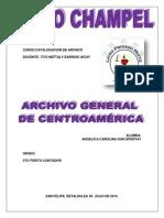 Archivo General de Centroamérica