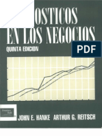 Pronostico en Los Negocios - Reitsch