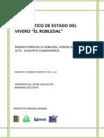Diagnostico Del Estado Del Vivero El Robledal