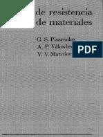 Manual de Resistencia de Materiales. Pisarenko, Yákovlev, Matvéev. Editorial MIR-Moscú 2P