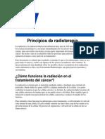 I.3.a. Radiaciones Principios de Radioterapia