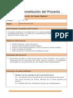 Acta de Constitucion de Proyecto - Puente Peatonal
