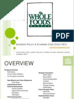 Edited Presentation FINAL COPY- Whole Foods