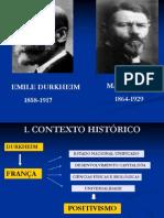 Durkheim e Weber 1