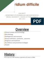 Clostridium Difficile Epidemiology
