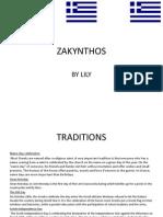 Zante PowerPoint Presentation