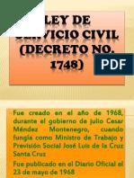 Presentación Ley Del Servicio Civil