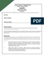 July 14, 2014 Draft Agenda Outline
