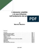 Mazziero - Trattato sulla volatilità