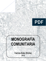 Monografía Comunitaria de Carrús Este, Elche