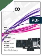 Philco Manual de Instruções Rádio (XIUH(DSa