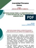 Metodologías Para Identif y Eval Impactos 2014
