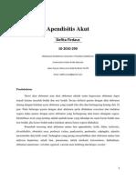 (Skenario 8) Appendicitis