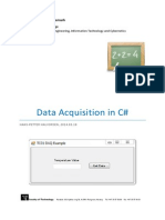 Data Acquisition in CSharp