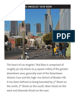 10/22/08   LA Chamber of Commerce Homeless Brochure