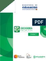 Unidad 1 Interfaz Geogebra