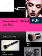 International business analysis of M A C cosmetics