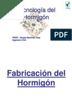 UTEM Clase 6 Hormigón - Fabricación y Transporte