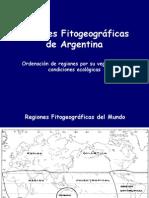 Regiones Fitogeograficas Argentinas