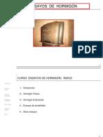 UTEM 2014 Clase 11 Ensayos de Hormigón