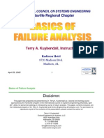 Basics of Failure Analysis