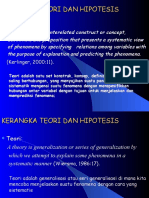 teori-hipotesis