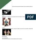 13 Géneros Teatrales y Signos