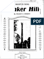 Bunker Hill Song - Nelson Sweeny